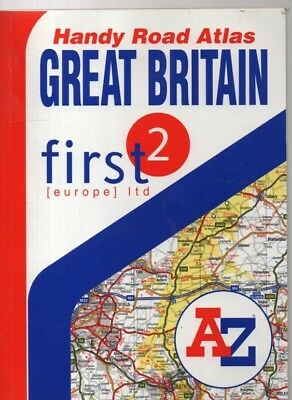 Handy Road Atlas - Great Britain (2003 paperback)