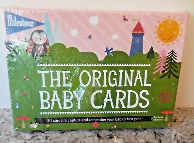 Milestone THE ORIGINAL BABY CARDS 30 Cards to Remember Baby's 1st Year! NEW