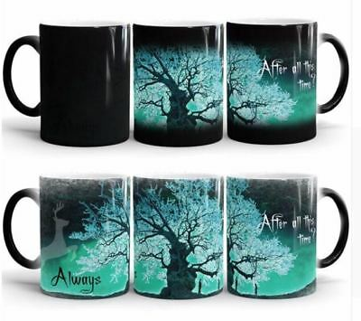 Harry Potter Magic Mug After all this time Always Color Changing Cup GREEN Snape