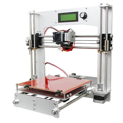 Full Aluminum frame Prusa I3 with MK8 extruder 3D Printer DIY KIT FREE SHIPPING