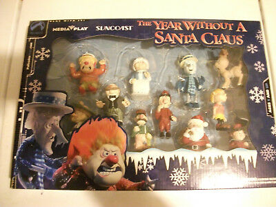 The Year Without A SANTA CLAUS 2002 Suncoast Palisades 11 Figure Set In Orig BOX