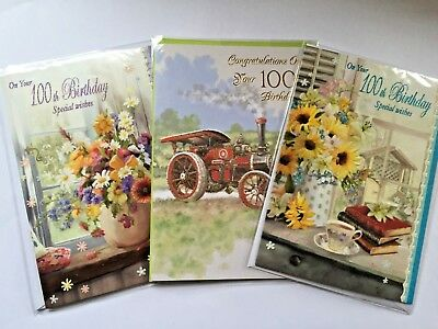 100th Age 100 Birthday Cards Male Man Female Lady Including Special Born In 1918