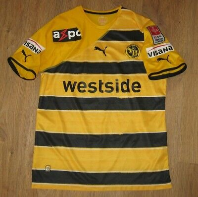 Young Boys Switzerland 2010 - 2011 #17 Spycher match worn home shirt size L