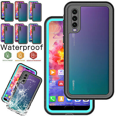 newest 955d5 10641 FOR HUAWEI P20 / P20 Pro Waterproof Case Underwater Shockproof Cover  Protector