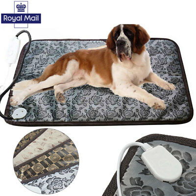 Electric Heating Pad Heater Warmer Mat Bed Blanket For Pet Dog Cat Waterproof