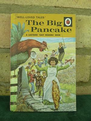 Vintage Ladybird book The Big Pancake Well loved tales price 24p net