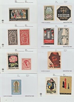 Cinderella revenue fiscal stamp- 918-19 mix lot most all ok/with gum -- scarce