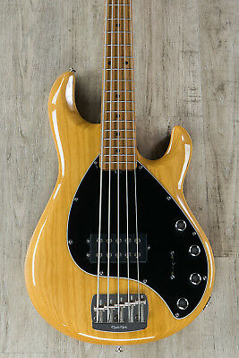 Ernie Ball Music Man StingRay 5 Special 5-String Bass, Classic Natural, Roasted