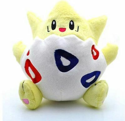 "Pokemon Center Togepi Plush Doll Soft Stuffed Figure Toy 8"" Collectible US ship"