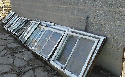 Custom cut wavy glass replacement window pain glass.out of old victorian home