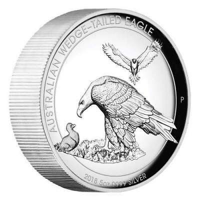 2019 $1 Australian Wedge-tailed Eagle 5oz Silver Proof High Relief Coin