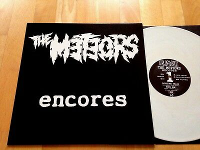 THE METEORS - lonesome train LP Psychobilly 1991 EP Psycho Punk |P. Paul Fenech