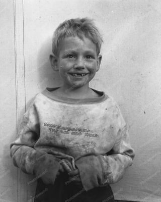 Child Of Cotton Pickers 1930s Vintage 8x10 Reprint Of Old Photo