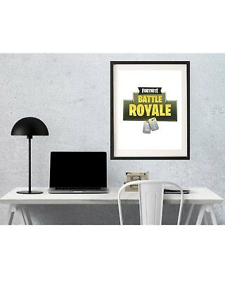 Fortnite Game Poster  Print A4 Home Decor Poster  Gift