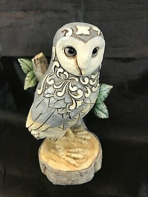 Jim Shore HWC Wisdom Begins with Wonder White Woodland Owl Figurine 4056970