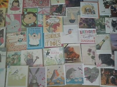 120 F,b Cards, Wholesale Joblot Greeting Cards