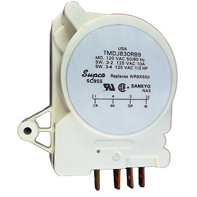 For GE Hotpoint Refrigerator Defrost Timer # PM-WR09X0339 PM-WR09X0342