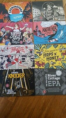 Set Of 8 Skinners Brewery Postcards