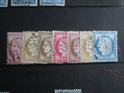 Timbre France  Yt 54/60