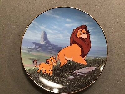 Disney Lion King Collector Plate
