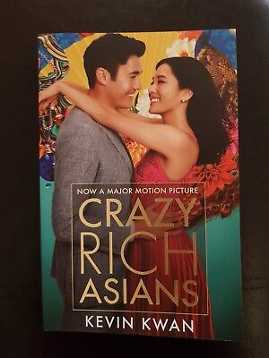 Crazy Rich Asians: (Film Tie-in) by Kevin Kwan New Paperback Book