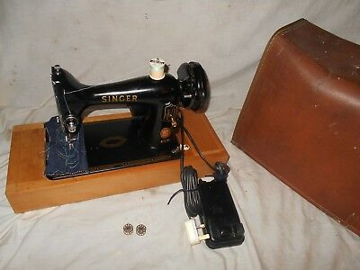Stunning Singer 99K Red S Sewing Machine - Fully Serviced