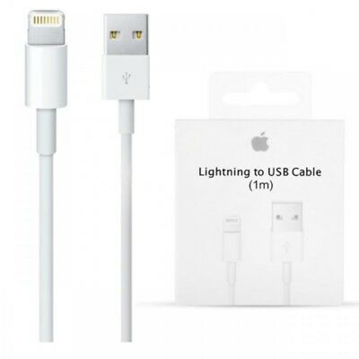Carica Batteria Caricatore Cavo Lightning Apple Originale Iphone 6 7 8 X Ipad