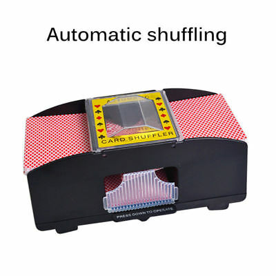 Automatic Card Shuffler, 2 Deck, BLACK, FAST, POKER, CARDS GAME GAMES ADULT USA
