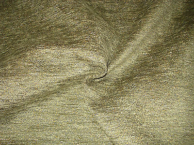 5 meters of Heavy weight Green Chenille Upholstery Fabric. 2,3.4 or 5 metres