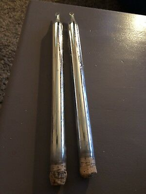 Pair Of Mid Century Mercury Candle Tapers