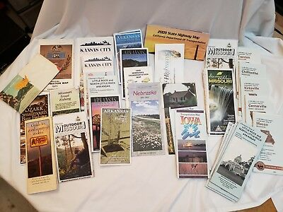 Lot of 35 Various maps 1960s to date, or so