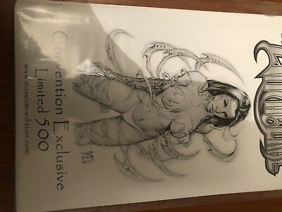 Witchblade Comic Convention Ltd Edition