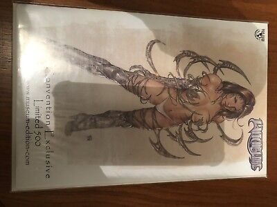 Witchblade Colour Convention Ltd Comic