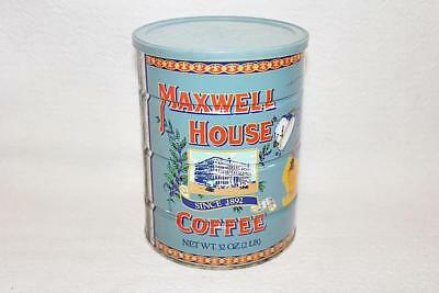 Old Maxwell House Coffee 80th Anniversary 2lb Tin Can Made