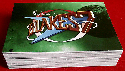 "BLAKE'S 7 - COMPLETE ""Green Series"" BASE SET of 54 CARDS - Unstoppable 2013"