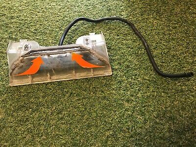 BRUSH FEET SCRUBBER HOUSING & HOSE from VAX POWER MAX CARPET WASHER VRS5