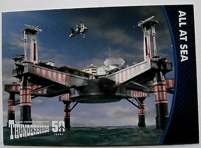 THUNDERBIRDS 50 YEARS - Card #28 - Gerry Anderson - Unstoppable Cards Ltd 2015
