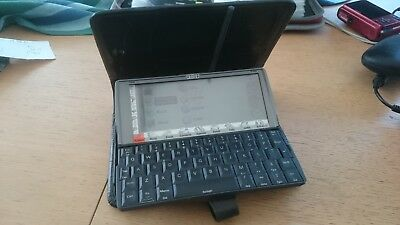 Psion 5 series 5mx Palmtop Computer Vintage/Classic PDA with Mulberry case