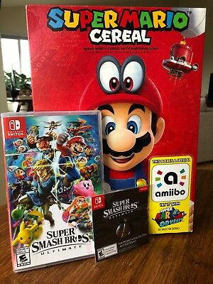 Super Smash Bros Ultimate (Nintendo Switch) BRAND NEW Collector Combo