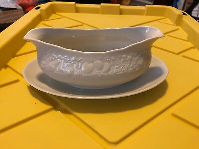 Harmony House Gravy Boat With Attached Underplate Bounty Japan Fine China