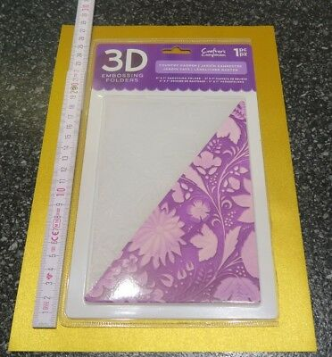 3D Prägeschablone Embossing Folders by Crafters Companion f. Gemini Sizzix....