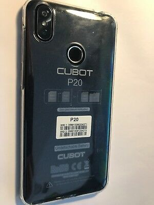 Cubot P20 4G Smartphone 6.18 inch Android 8.0 8Core 4GB+64GB WIFI Handy 4000mAh
