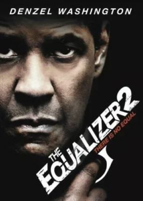 """The Equalizer 2"" (DVD ONLY!)( 2018)  SHIPS ON 12/11"