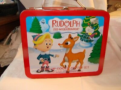 RUDOLPH  THE RED-NOSED REINDEER  LUNCHBOX  2006  NO Cookie Cutters