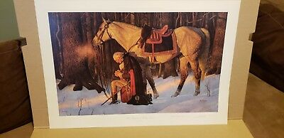 the prayer at valley forge limited edition by arnold friberg
