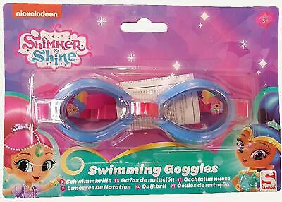 Shimmer & Shine Swimming Goggles Junior Swim Kids Children Gift Present Girl New