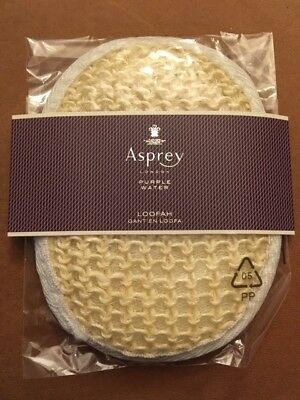 GANT EN LOOFA NATUREL GOMMAGE PEELING ANTI-CELLULITE - ASPREY LONDON - Neuf