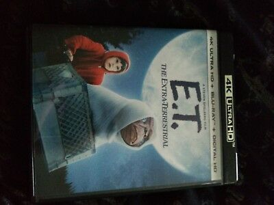 E.T 4k (Blu Ray Only) READ