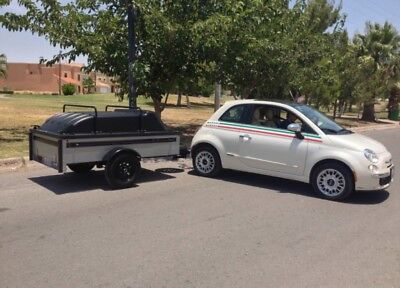 Uitility trailer, mini trailer, pull tow behind.