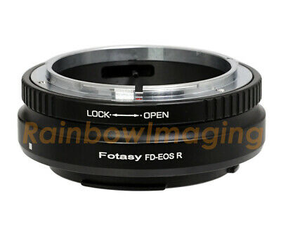 "Canon FD Lens to Canon EOS RF Mount R RP Mirrorless Camera Adapter ""US Seller"""